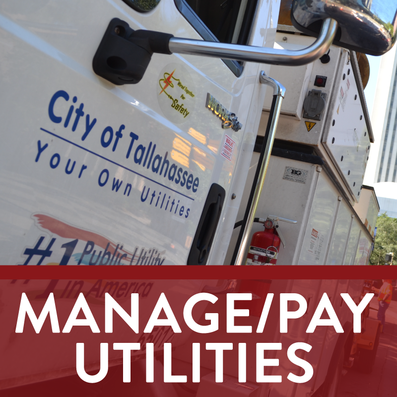 Manage/pay utilities