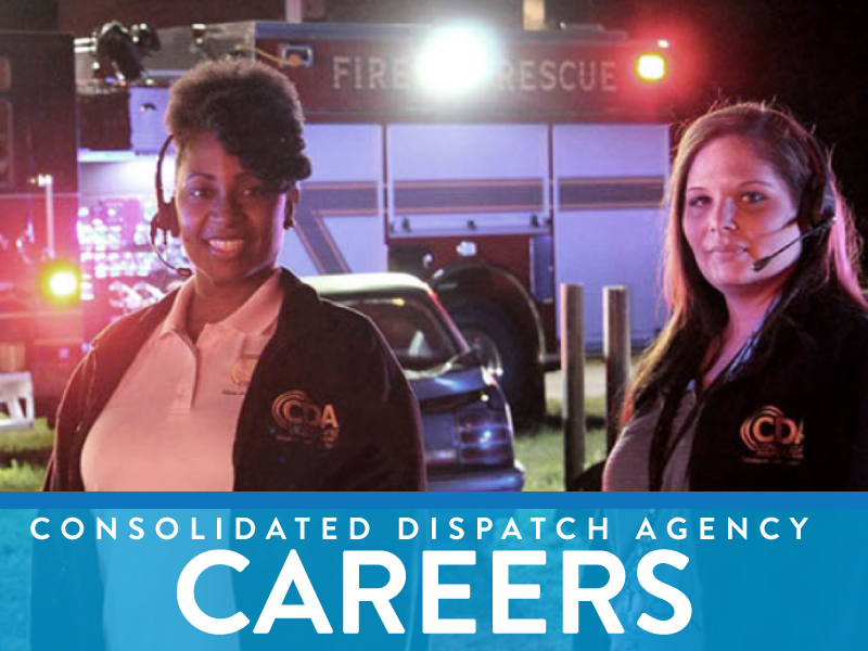 See Consolidated Dispatch Agency Job