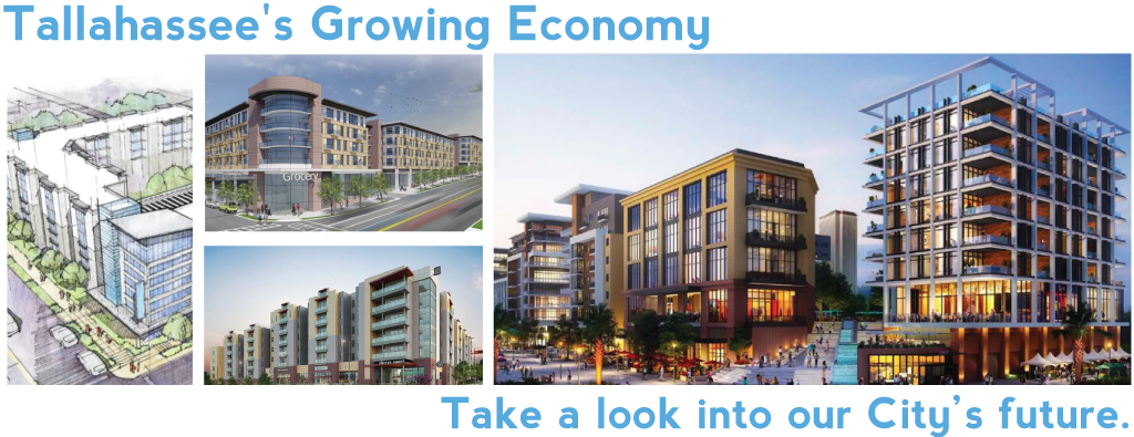 City of Tallahassee's Growing Economy and a look into the future of the City.