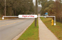 right of way image