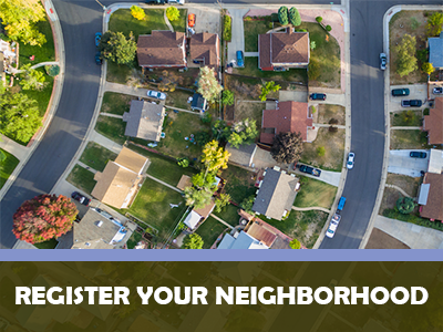 Register Your Neighborhood