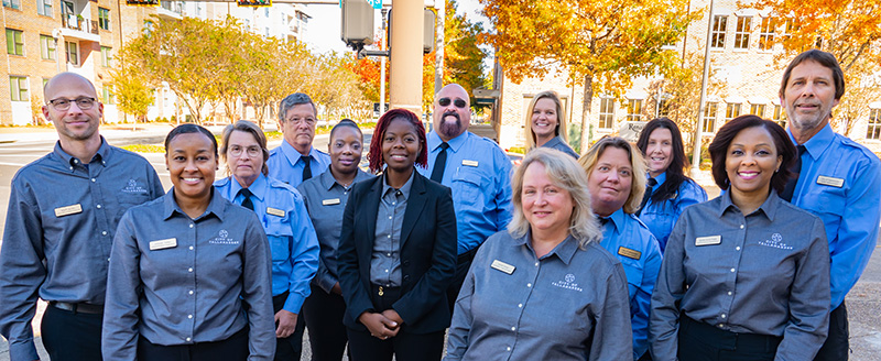 A group shot of the Code Enforcement Team.