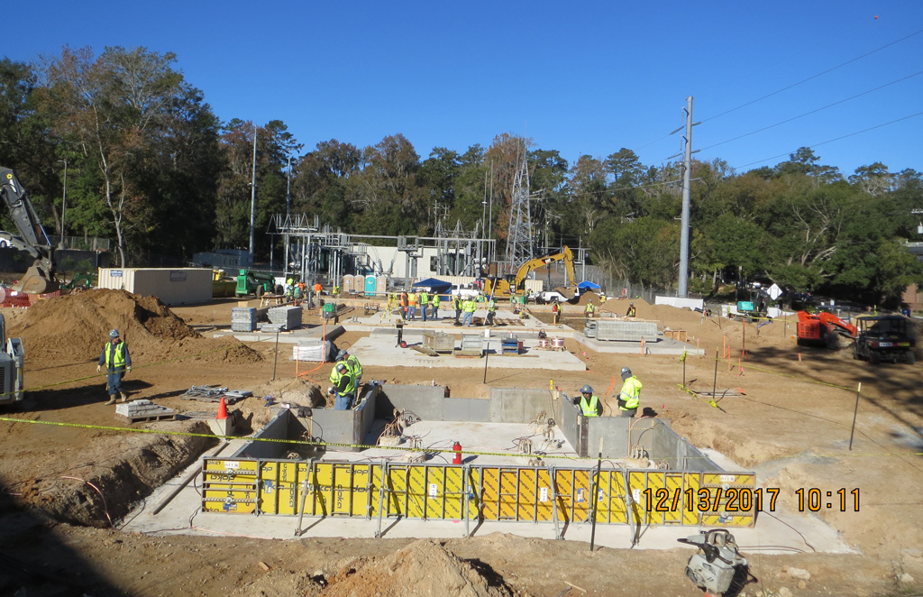 Substation 12 Construction Site