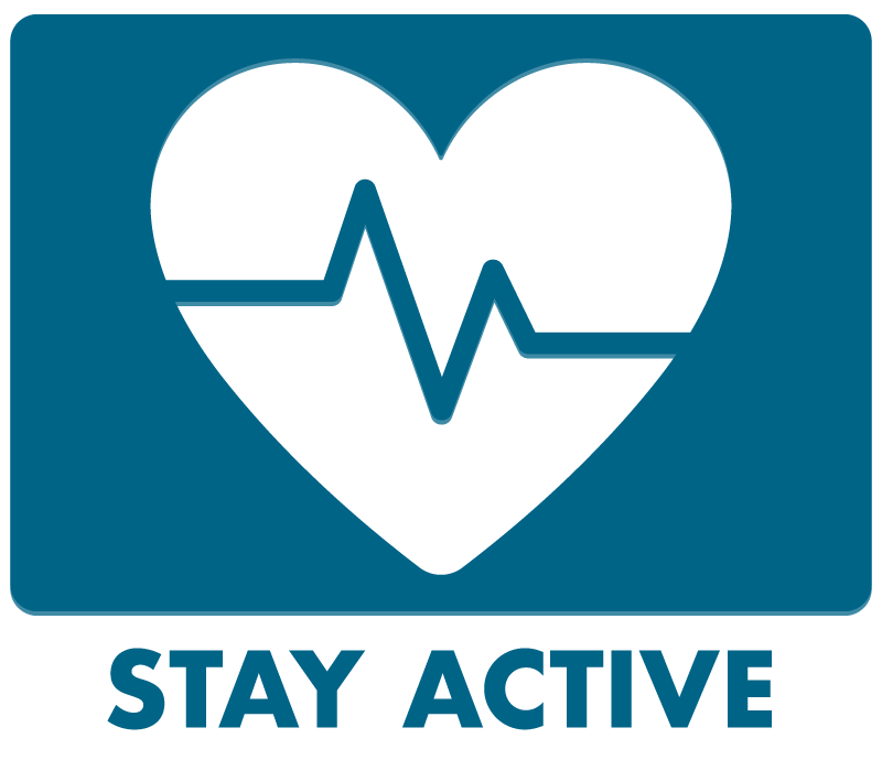 Stay Active Button