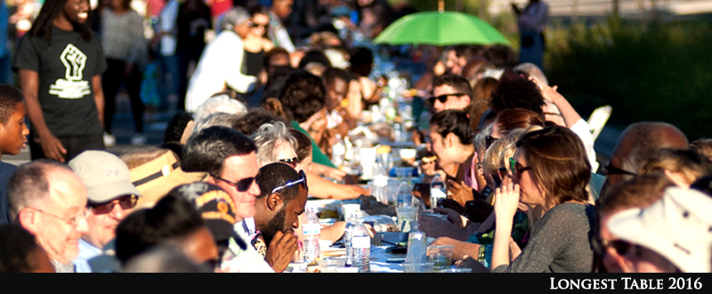 Locals Gather for Longest Table 2016