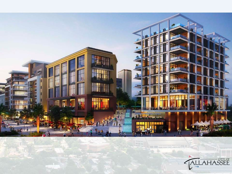 Cascades Mixed Use Development | 409 East Gaines Street