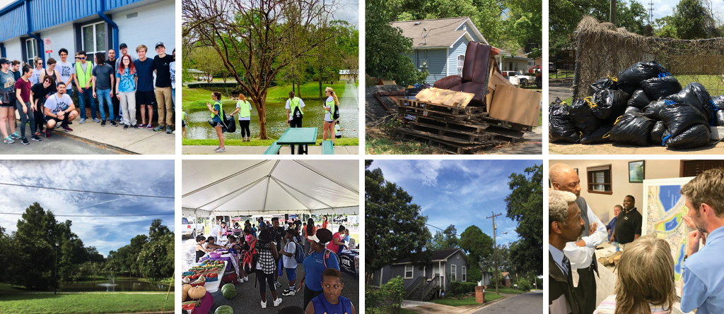 Showing a Productive Community by putting Neighborhoods first