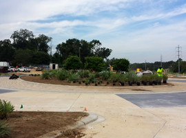 FAMU Way construction September 2015