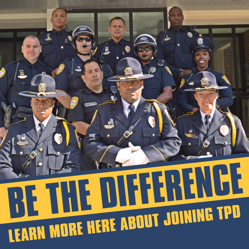 TPD Recruitment Flyer
