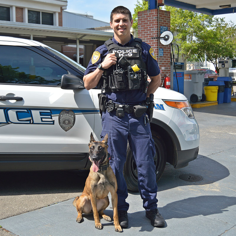 TPD K-9 Officer and Kana