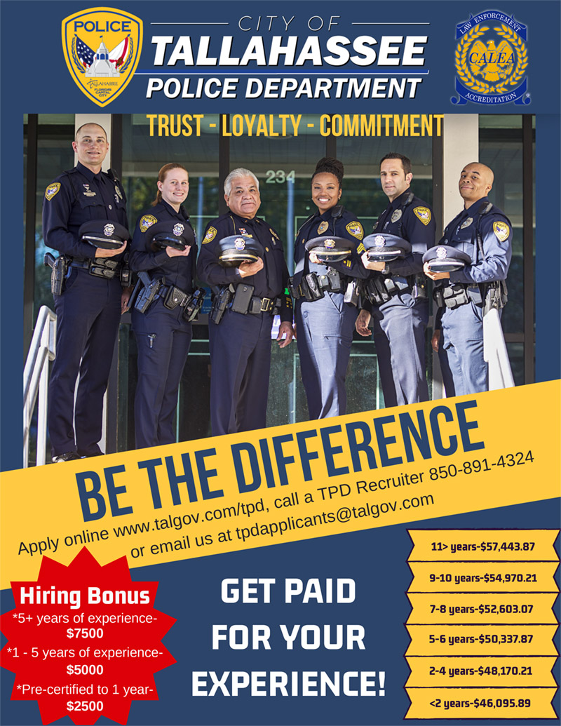 TPD | Becoming a Police Officer Trainee | Public Safety