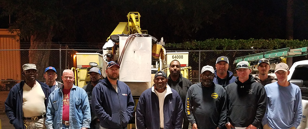 To help with ongoing restoration efforts, the City of Tallahassee will send a team of 11 employees from the Electric Utility and Fleet departments to the U.S. Virgin Islands.